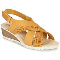 鞋子 女士 凉鞋 Damart MAYLO 黄色
