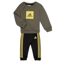 衣服 男孩 女士套装 adidas Performance 阿迪达斯运动训练 MERLO 灰色 / 黄色