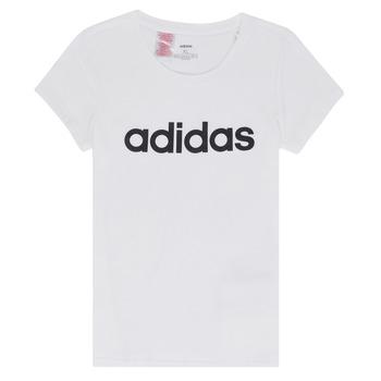 衣服 女孩 短袖体恤 adidas Performance 阿迪达斯运动训练 NELIZO 白色