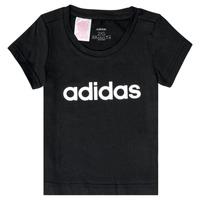衣服 女孩 短袖体恤 adidas Performance 阿迪达斯运动训练 NATRAZ 黑色