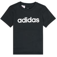 衣服 男孩 短袖体恤 adidas Performance 阿迪达斯运动训练 NATAZO 黑色
