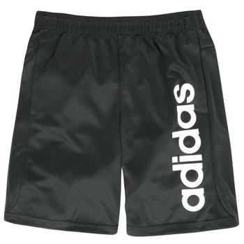 衣服 男孩 短裤&百慕大短裤 adidas Performance 阿迪达斯运动训练 NIKLOS 黑色