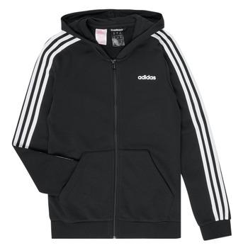 衣服 女孩 衛衣 adidas Performance 阿迪達斯運動訓練 GOMELLO 黑色