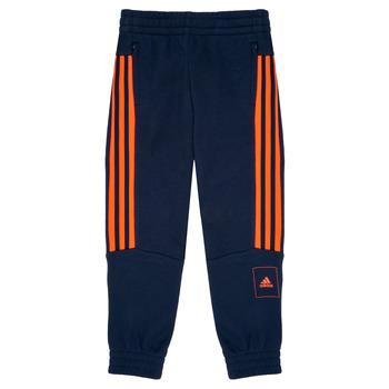 衣服 男孩 厚褲子 adidas Performance 阿迪達斯運動訓練 PERIOLRI 海藍色