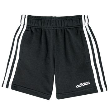 衣服 男孩 短裤&百慕大短裤 adidas Performance 阿迪达斯运动训练 NATALIE 黑色
