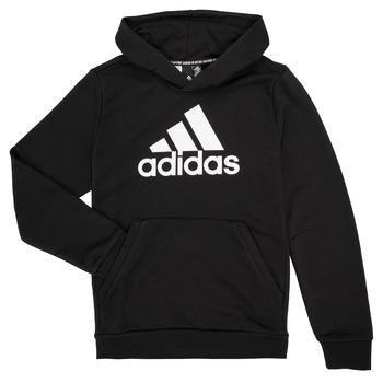 衣服 男孩 衛衣 adidas Performance 阿迪達斯運動訓練 MANEZ 黑色