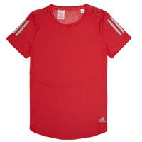 衣服 女孩 短袖体恤 adidas Performance 阿迪达斯运动训练 MELINDA 红色
