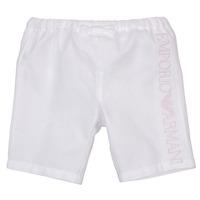 衣服 女孩 短裤&百慕大短裤 Emporio Armani Aniss 白色