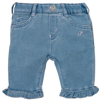 衣服 女孩 多口袋裤子 Emporio Armani Arthur 蓝色