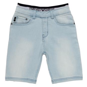 衣服 男孩 短裤&百慕大短裤 Emporio Armani Albert 蓝色