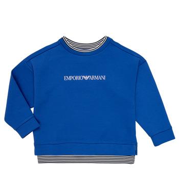 衣服 男孩 卫衣 Emporio Armani Aurèle 蓝色