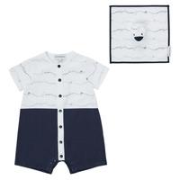 衣服 男孩 连体衣/连体裤 Emporio Armani Edouard 海蓝色