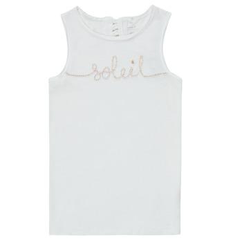 衣服 女孩 无领短袖套衫/无袖T恤 Name it NKFFAMILA 白色