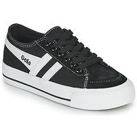 鞋子 儿童 球鞋基本款 Gola QUOTA II 黑色 / 白色