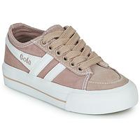 鞋子 儿童 球鞋基本款 Gola QUOTA II 玫瑰色 / 白色