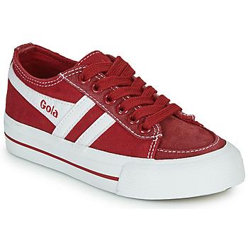 鞋子 儿童 球鞋基本款 Gola QUOTA II 红色 / 白色