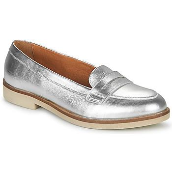 鞋子 女士 皮便鞋 André EFIGINIA 银灰色