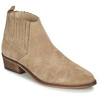 鞋子 女士 短靴 André MANA 灰褐色