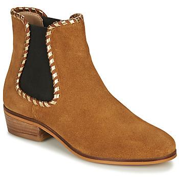 鞋子 女士 短靴 André BRETT 驼色