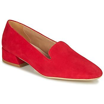 鞋子 女士 皮便鞋 André JUBBA 红色