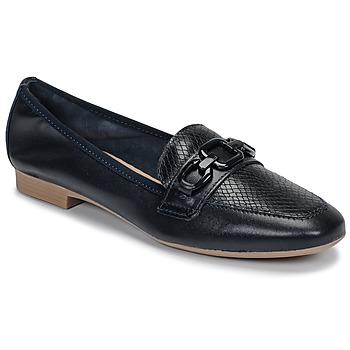 鞋子 女士 皮便鞋 André MAYRA 海蓝色