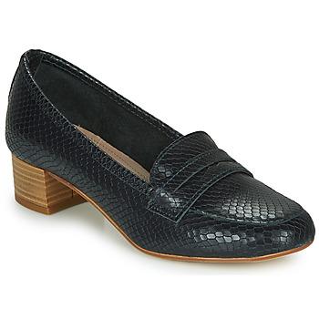 鞋子 女士 皮便鞋 André MICHELLE 海蓝色