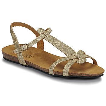 鞋子 女士 凉鞋 André BORA 金色