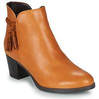 鞋子 女士 短筒靴 André MARYLOU 驼色