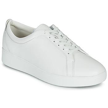 鞋子 女士 球鞋基本款 FitFlop RALLY SNEAKERS 白色
