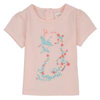 衣服 女孩 短袖体恤 Carrément Beau NOLAN 玫瑰色