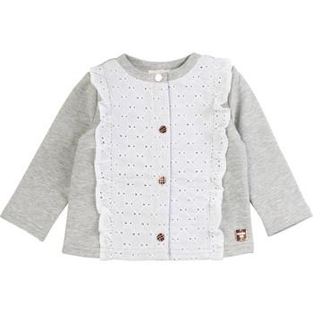 衣服 女孩 羊毛开衫 Carrément Beau ISA 灰色