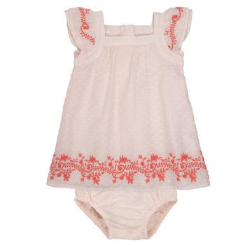衣服 女孩 短裙 Carrément Beau SAMY 玫瑰色