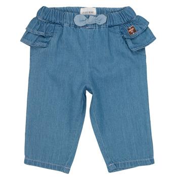 衣服 女孩 紧身牛仔裤 Carrément Beau ISAQ 蓝色