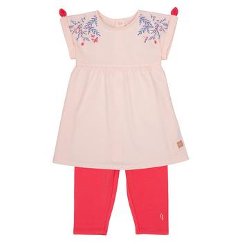 衣服 女孩 女士套装 Carrément Beau AIMEE 玫瑰色