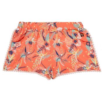 衣服 女孩 短裤&百慕大短裤 Carrément Beau ELENA 玫瑰色