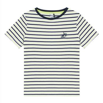 衣服 男孩 短袖体恤 3 Pommes NORDINE 黄色
