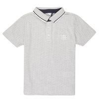 衣服 男孩 短袖保罗衫 3 Pommes MADYSON 海蓝色