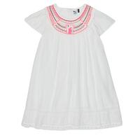 衣服 女孩 短裙 3 Pommes LAURA 白色