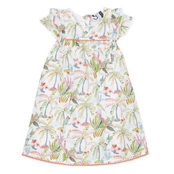 衣服 女孩 短裙 3 Pommes SANDRINE 白色