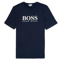衣服 男孩 短袖体恤 BOSS ELIO 蓝色