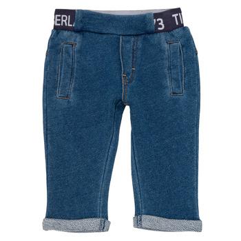 衣服 男孩 多口袋裤子 Timberland 添柏岚 VALENTIN 蓝色