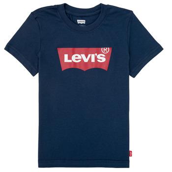 衣服 男孩 短袖体恤 Levi's 李维斯 BATWING TEE 海蓝色