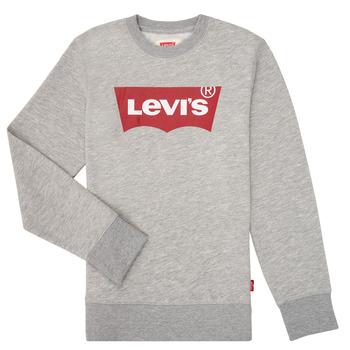 衣服 男孩 卫衣 Levi's 李维斯 BATWING CREWNECK 灰色