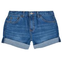 衣服 女孩 短裤&百慕大短裤 Levi's 李维斯 GIRLFRIEND SHORTY SHORT 蓝色