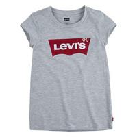 衣服 女孩 短袖体恤 Levi's 李维斯 BATWING TEE 灰色