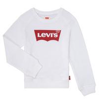 衣服 女孩 卫衣 Levi's 李维斯 KEY ITEM LOGO CREW 白色