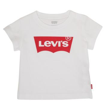 衣服 男孩 短袖体恤 Levi's 李维斯 BATWING TEE 白色