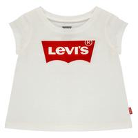 衣服 女孩 短袖体恤 Levi's 李维斯 BATWING TEE 白色