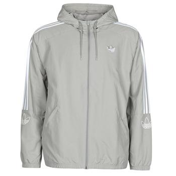 衣服 男士 衛衣 Adidas Originals 阿迪達斯三葉草 OUTLINE TRF WB 灰色