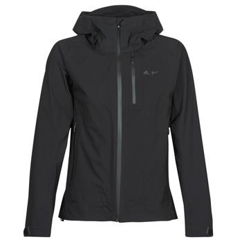 衣服 女士 运动款外套 adidas Performance 阿迪达斯运动训练 W PARLEY 3L JKT 黑色